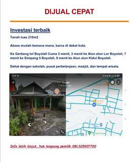 Dijual Cepat Investasi Rumah Pinggir Jalan Harga Nego