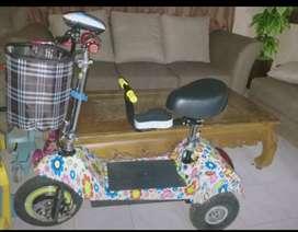 Scooter roda tiga tipe harley