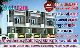 JDA APPROVED 3 BHK VILLAS 90% LONEBLE