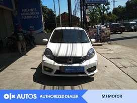 [OLX Autos] Honda Brio Satya 1.2 E Bensin 2017 MT Putih #MJ Motor