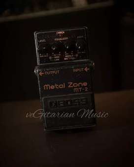 efek gitar stompbox pedal boss metal zone mt2