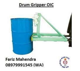 Forklift Extention Drum Kaleng dan Drum Plastik merk OIC OPK Bishamon