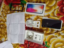 IPhone x 64GB all accessories cell me