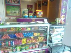 Corporate juice cum snack counter for sale with daily income of 6000/-