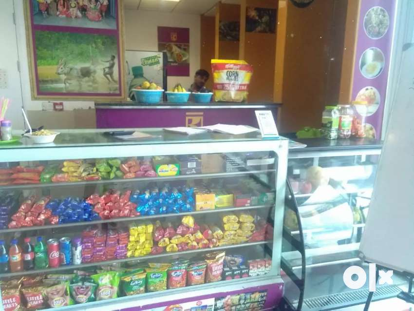 Corporate juice cum snack counter for sale with daily income of 6000/- 0