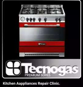 Tecnogas oven repairing centre home service and sell  purchasing