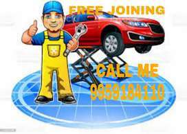 4 WHEELER MECHANIC AND TECHNITION JOBS FREE JOINING