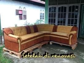 Renovasi kursi tamu,kursi sofa atau kursi jati