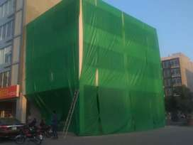 Green Net for Construction wrapping & Shadow@ 25/Sq.ft.