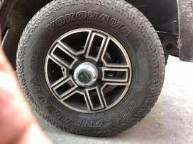 Bolero thar scorpio original alloy Cars wheel in alloy wheels