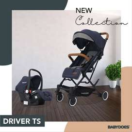 Stroller Babydoes Driver TS/Stroller 2 in 1 / stroller cabin+carseat