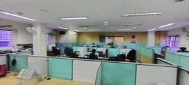Ashok Nagar fully furnished office rent 2200sqft 30 w/s