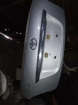 Genuine Trunk for Toyota Belta - Shah Nafees Traders