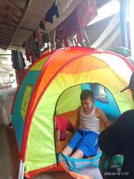 Tenda anak karakter# tenda anak dome