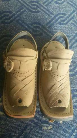 Balochi chappal hand made pure leather.