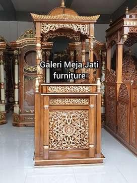 Mimbar masjid kuba E767 talk