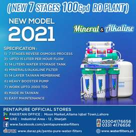 Pentapure 7 Stages Mineral Water filter - Taiwan Ro Plant