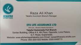 Takaful Fanacial Consultant & Managers Required
