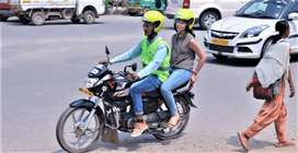 Bike taxi picup drop full/Part time job daily salary