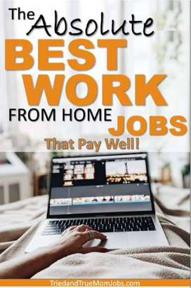 Work from home job available