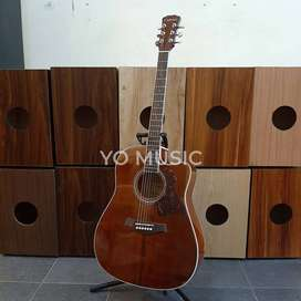 Guitar Acoustic CADENZA CA36C SOLID Original Medan (FREE TAS & PICK)