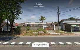 Disewakan Tanah Pekarangan 540 sqm di Ringroad Barat Jogja