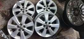 Genuine 4Alloy wheel Of Toyota Altis 15