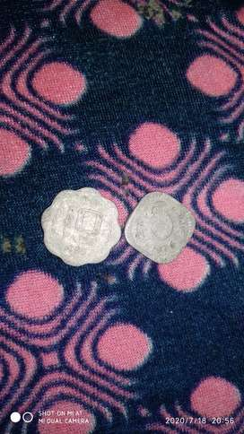 Old coins 5paisa 10 paise