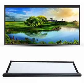 100 inch Polyester HD 16:9 Home Outdoor 3D Film Projection For Home