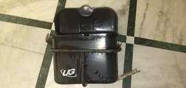 Bike side luggage box