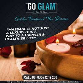 GO GLAM HAIR SALON AND SPA IN ISLAMABAD
