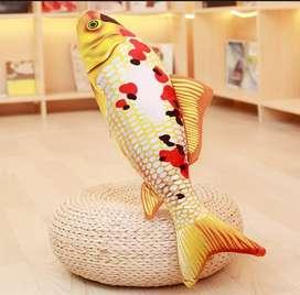 Boneka Ikan Koi cocok buat Kado anak, pajangan di rumah/kendaraan.