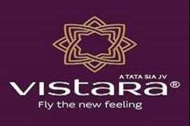vistara Airline Urgent hiring for groundstaff ,Ground / more post appl