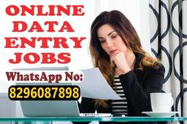 Genuine simple typing data entry work