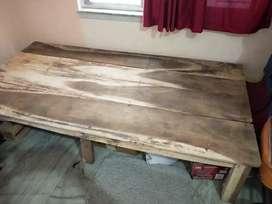 Single Wood Bed Besic