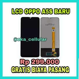Lcd Oppo A5s Murah dan gratis pasang (EKA CELL PS)