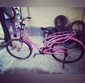 An Avon ladies bicycle for sale 2 years old.