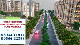 Gated community apartment flats available At patancheruvu