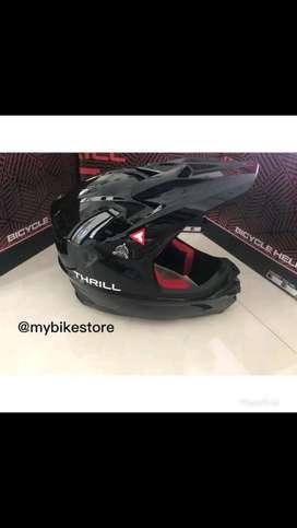 Helm sepeda thrill full face