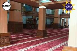 Sedia karpet masjid import mewah pasang obras ditempat