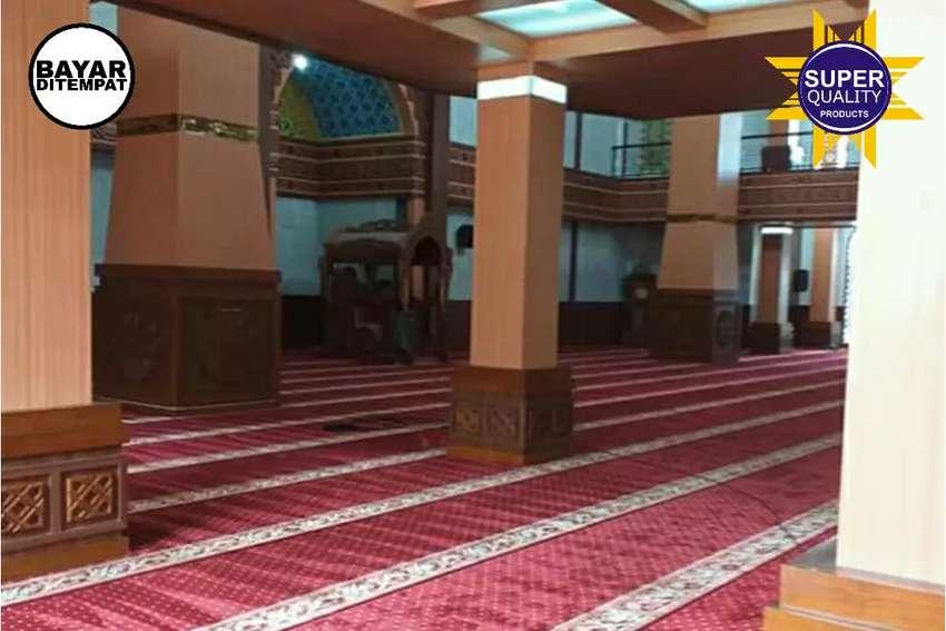 Sedia karpet masjid import mewah pasang obras ditempat 0