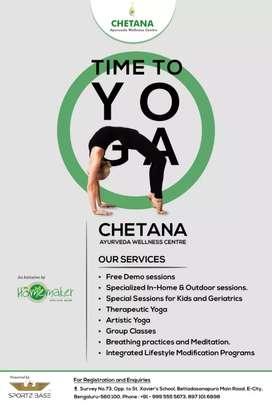 Young Yoga Instructor @Bangalore