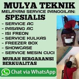 Service AC Kulkas Gak Dingin Service Mesin Cuci Panggilan