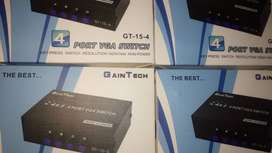 Box VGA Switch 4in1 GainTech GT15-4 WideScreen