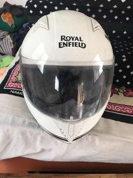 Royal enfiled helmet   Not even single use