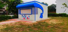 Milk booth @38lakh in mohali