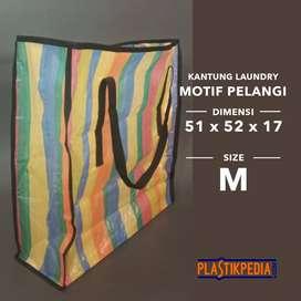 Tas Belanja/Tas Laundry Pelangi Size M (51x52x17cm)