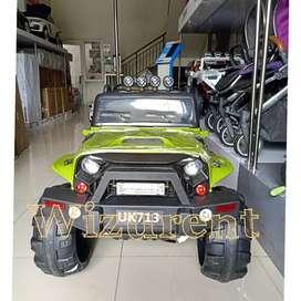 Mobil aki Jeep Rubicon style