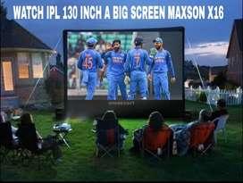 WATCH LIVE TV IPL BIG SCREEN WIFI YOUTUBE SMART HOME CINEMA PROJECTOR