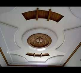 All type of false ceiling work.